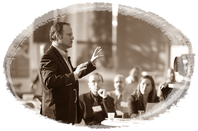 What is Public Speaking In The Leadership Arena